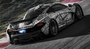 McLaren P1 Hybrid Supercar Concept