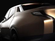 Mitsubishi GR-HEV Concept - Full-size Diesel-Electric Hybrid Truck