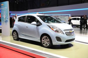 Chevy Spark EV at the 2013 Geneva Motor Show