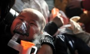 CHINA-BEIJING-AIR POLLUTION-RESPIRATORY DISEASES (CN)