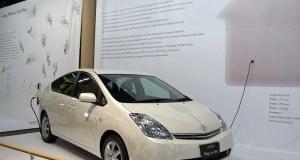 Toyota Prius Plug-In Hybrid Vehicle in the UK
