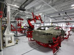 Tesla Model S in the Factory, Best Time to Install all those Performance Plus Goodies