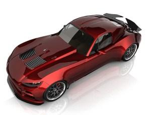 BXR Motors' Bailey Blade EVR Prototype Plug-In Hybrid Electric Vehicle