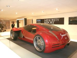 Autonomous Driving, a la Minority Report, Coming Soon?