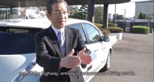 Nissan Autonomous Drive Successfully Navigates Japanese Highways