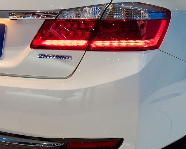 Honda Accord Hybrid - 2014 Green Car of the Year