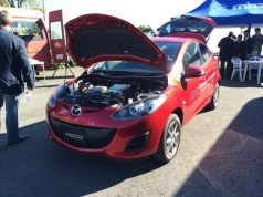 Mazda2 Plug-In Concept is an Extended-Range Electric Vehicle