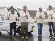 World-Record-Setting Electric Vehicle and Team