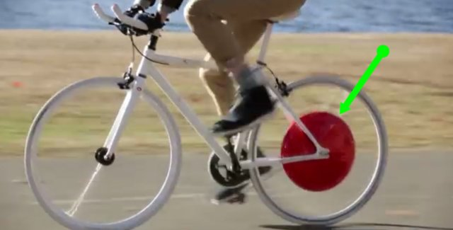 SuperPedestrian's Copenhagen Wheel Converts ANY C-Bike into an E-Bike in Minutes!