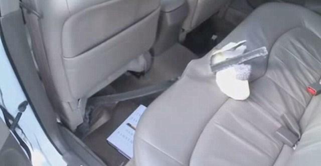 Honda Accord (not Tesla Model S) Impaled