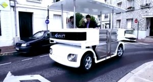 All-In-One - Electric Vehicle, Autonomous Drive, WIreless Charging