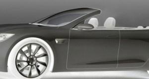 Tesla Model S Convertible, by Newport Convertible Engineering