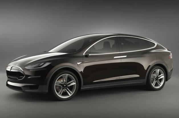 Tesla Motors Originally Displayed the Tesla Model X WithOUT Side-View Mirrors