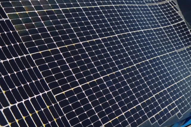 More General Motors' solar power going online Fall 2014