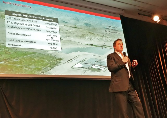 Tesla Gigafactory Signs on First Partner, Panasonic