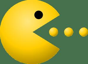 PacMan eating pellets
