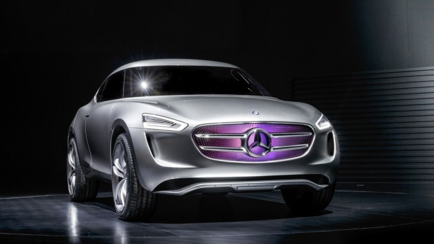 Mercedes-Benz Vision G-Code Concept hydrogen fuel vehicle, and then some.