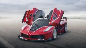Ferrari FXX K Hybrid Supercar  (c) Ferrari S.p.A.