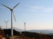 Wind Power Growing at Tangshanpeng, China, Wind Farm