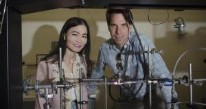 Caltech's Dr. David Boyd and Dr. Nai-Chang Yeh, who stumbled upon a fast and cheap graphene manufacturing process.