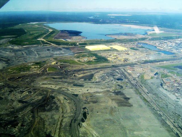 Oil production Alberta