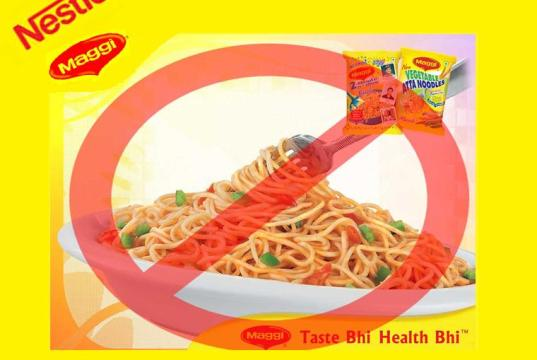 Nestle Maggi Bannedin India