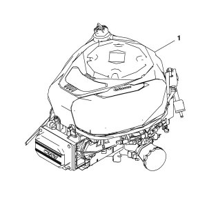 John Deere Complete Gasoline Engine  MIA12621