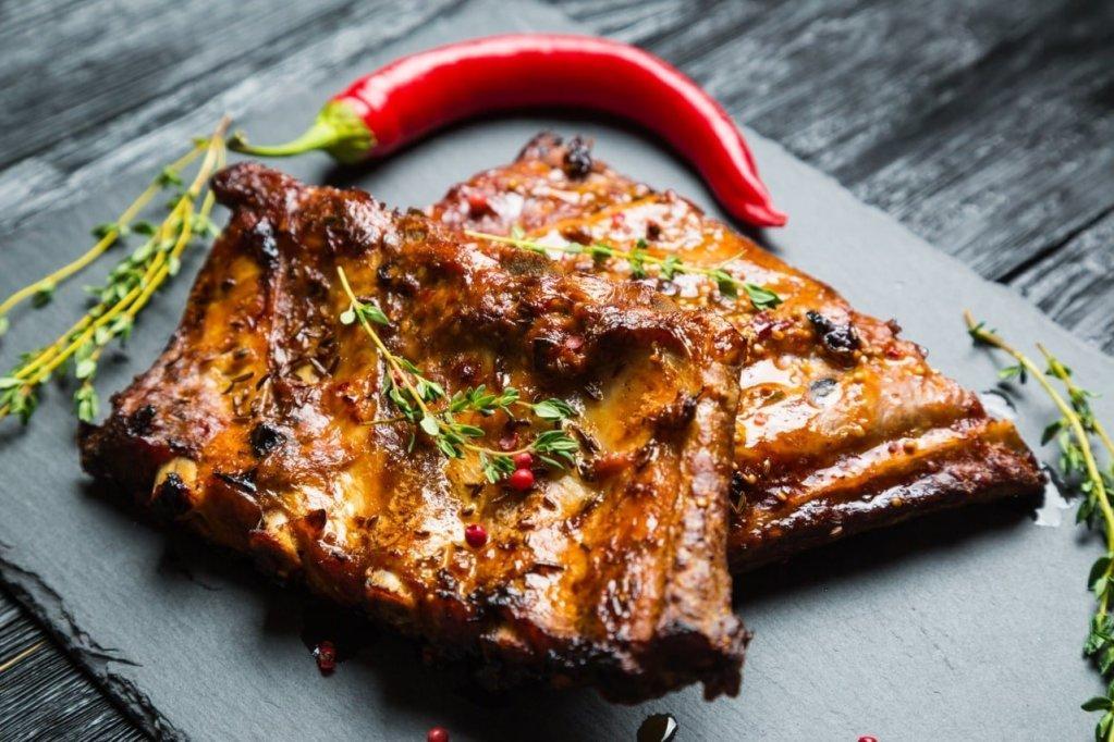 Organic Pork RIbs with Dry Rub Jerk Seasoning