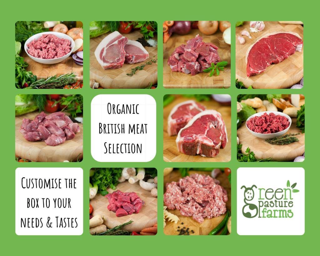 Organic British Meat Selection Box