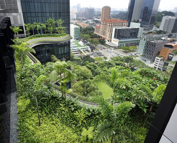 Parkroyal Hotel Rooftop Garden, Singapore