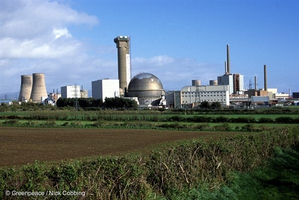 The Sellafield Nuclear Power Station (2002).