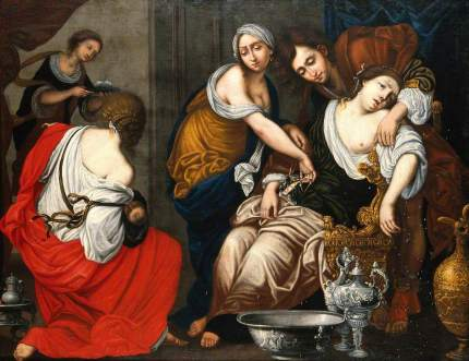 Death of Rachel, by Francesco Furini
