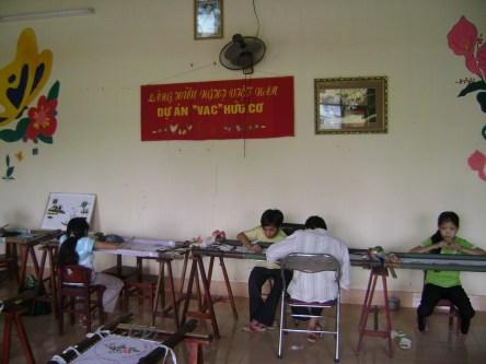 "Kids at ""Friendship Village,"" near Hanoi"