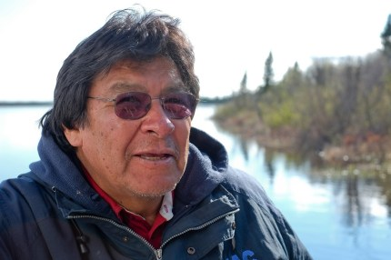 Chief Peter Moonias (copyright Allan Lissner/Neskantaga)