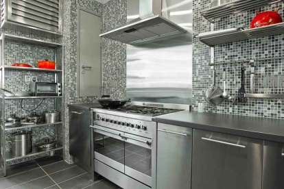 awesome-stainless-steel-kitchen-design