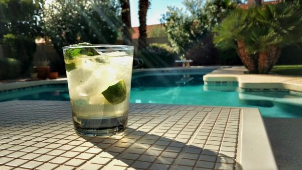 drink near Pool