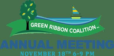 Green Ribbon Lakefront Coalition Annual Meeting - November 18th 6-9 PM