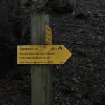 Sentiero 33 - Segnavia