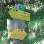 Sentiero 233 - Incrocio a Serra Piana col sentiero 232 (Ex6)