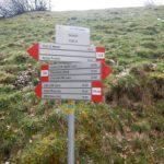 Sentiero 226 - Incrocio alla Valcella