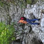 Sentiero 238 -La Gola delle Gorghe nella Spaccatura delle Lecce