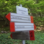 Sentiero 227 - Segnavia in Bassa Valrachena