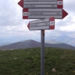 Sentiero 227 - Incrocio col sentiero 240
