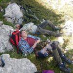 Pollino trek - Riposino al Passo di Malevento