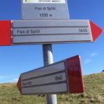 Sentiero 283 - Segnavia a Pian di Spilli