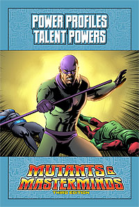 Mutants & Masterminds Power Profile: Talent Powers