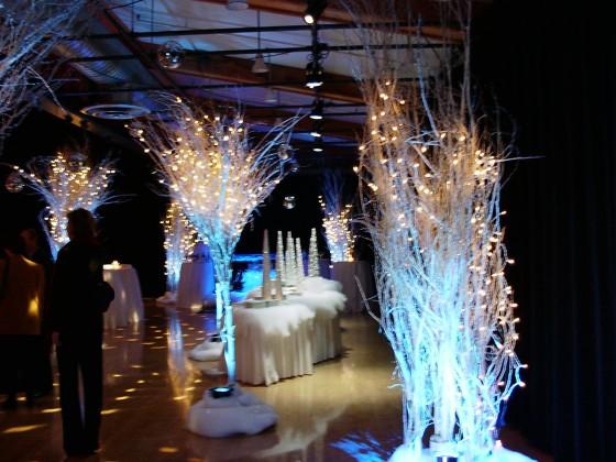 Greenscape Design Wedding Decor Crystal Birch Martini Tree And Cers