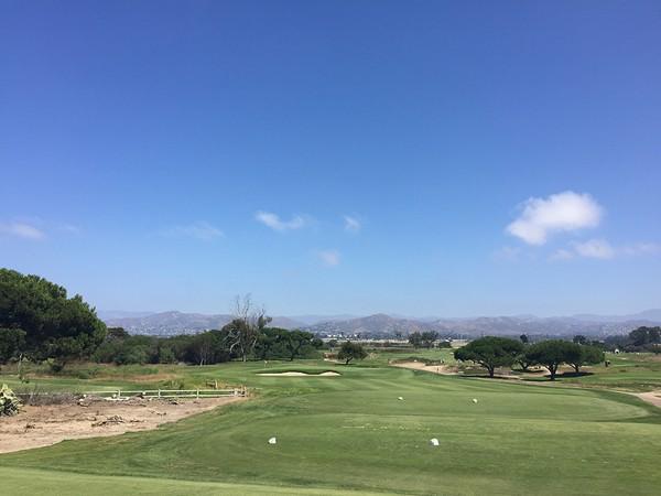 Olivas Links Ventura California Hole 17 Par 3
