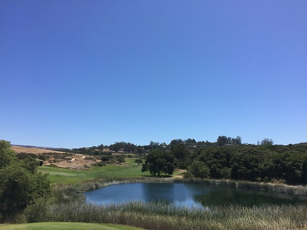 La Purisima Golf Course Lompoc California. Hole 12 Par 5