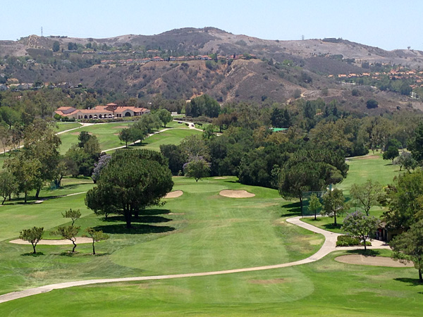 Anaheim Hills Golf Course Anaheim California Hole 15